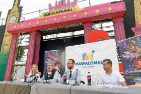 Presentación Eurocarnaval Maspalomas 2017